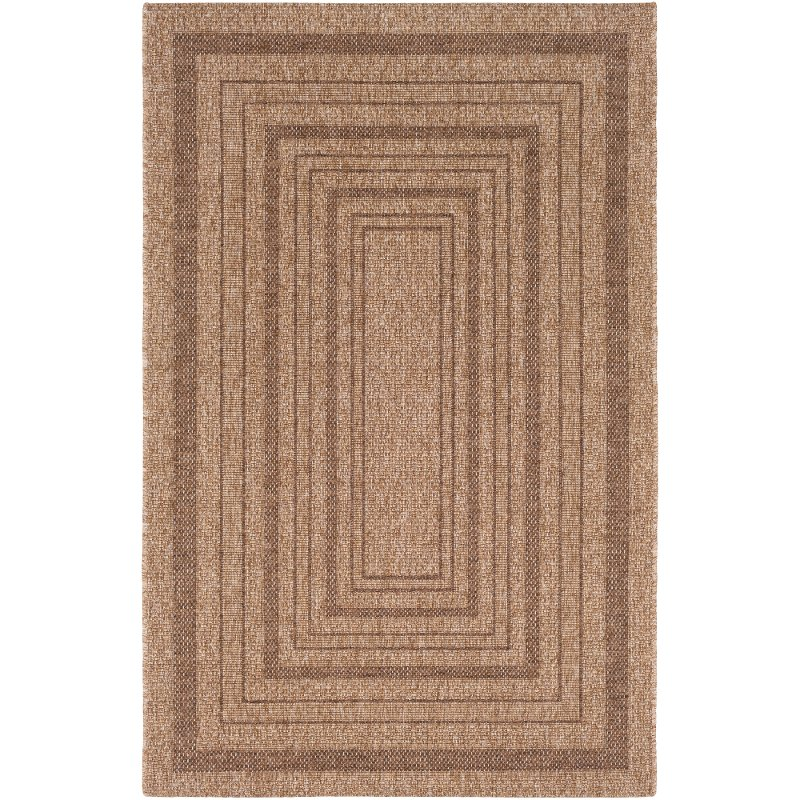 2 X 3 X Small Camel Brown Indoor Outdoor Area Rug Marmaris Rc