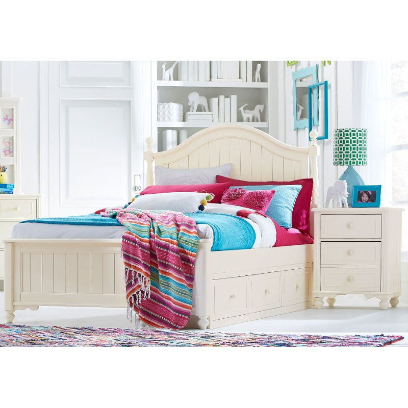 Classic Ivory 7 Piece Full Bedroom Set - Summerset | RC Willey ...