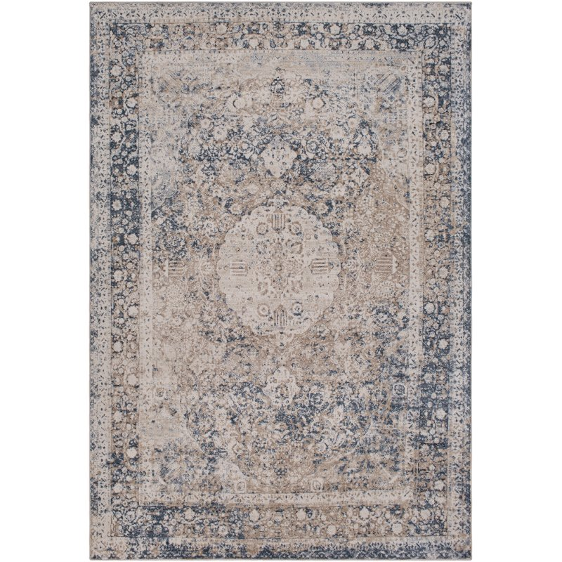 9 X 12 X Large Taupe And Charcoal Gray Area Rug Durham Rc Willey