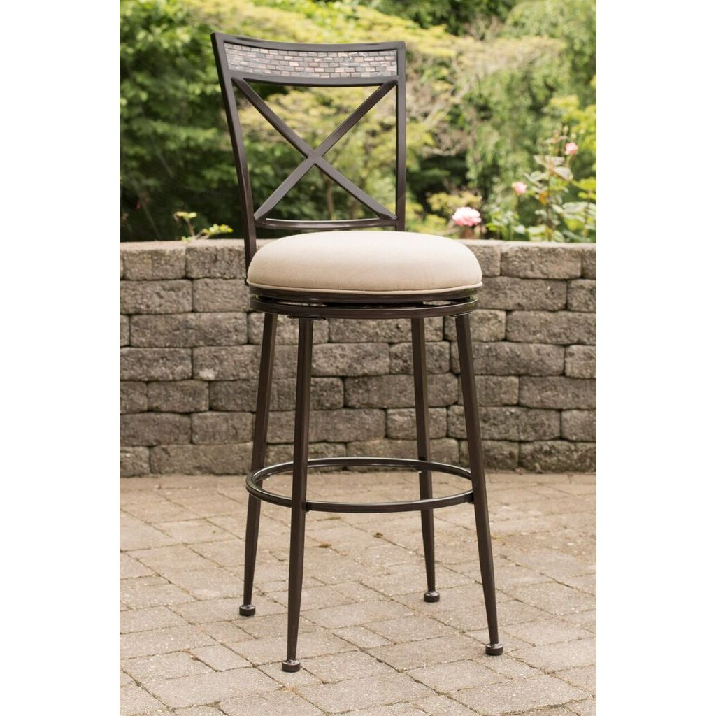 Exceptionnel Indoor Outdoor Swivel Counter Height Stool   Pullman | RC Willey Furniture  Store