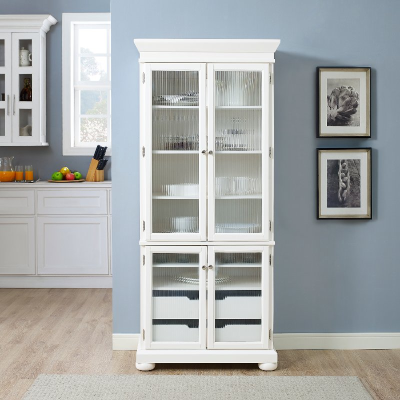 Kitchen Furniture Stores: White Kitchen Pantry - Alexandria