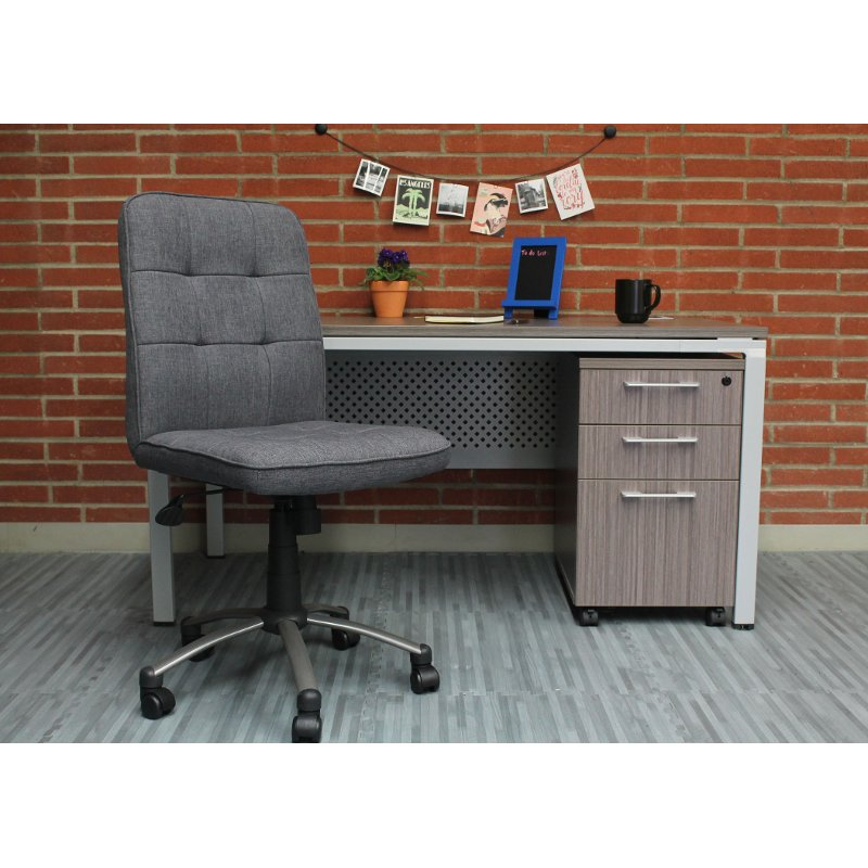 Sensational Gray Ergonomic Office Chair Lamtechconsult Wood Chair Design Ideas Lamtechconsultcom