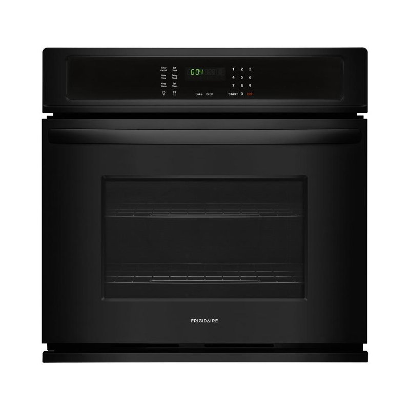 Frigidaire 27 Inch Single Wall Oven 3 8 Cu Ft Black Rc