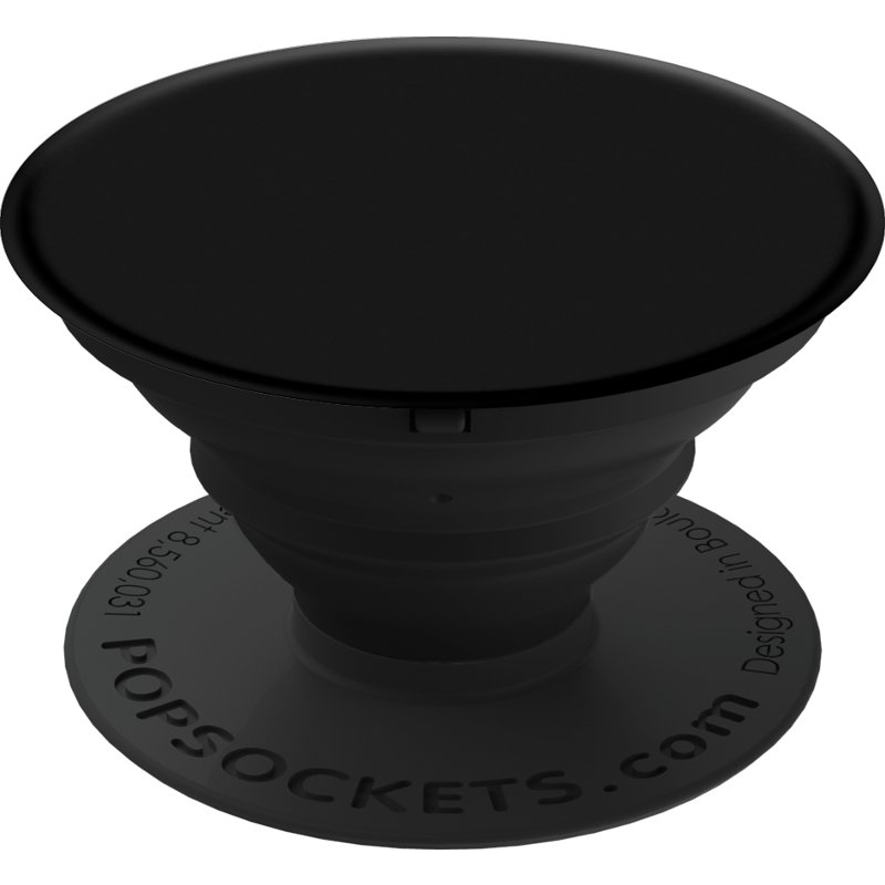 Black PopSocket Cell Phone Grip And Stand