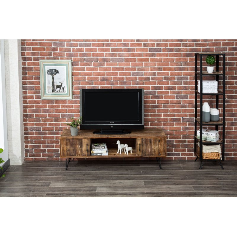Reclaimed Wood Tv Stand 60 Inch Brixton Rc Willey Furniture Store