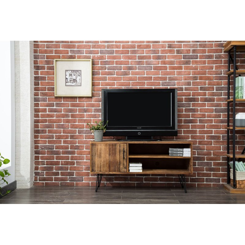 Natural Reclaimed Wood 50 Inch Tv Stand Brixton Rc Willey