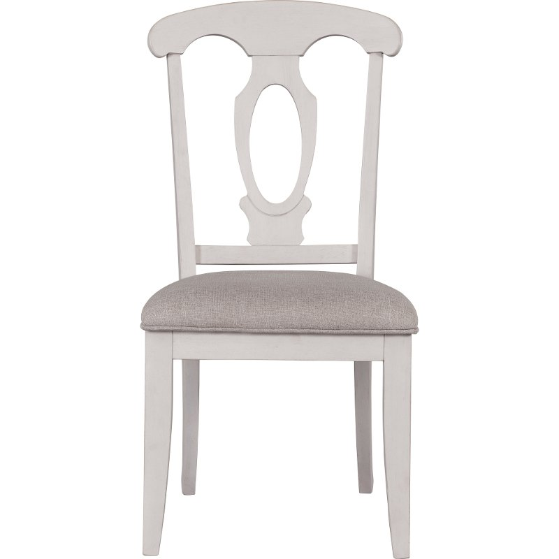 white upholstered dining chairs trendy dining white upholstered dining chair ashgrove rc willey furniture store