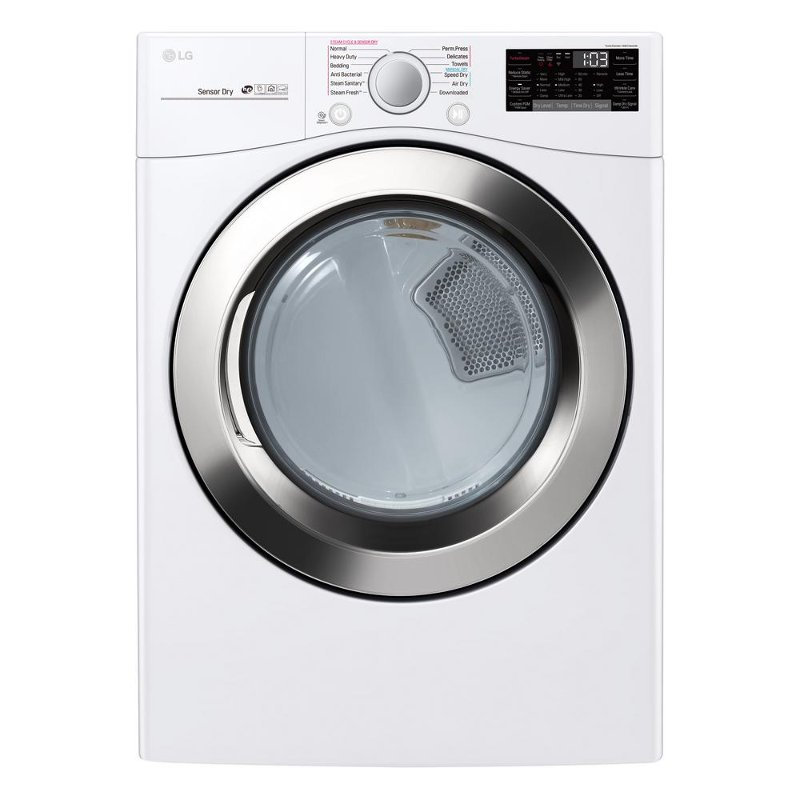 Rc Willey Dryer: LG Large Capacity Electric Steam Dryer