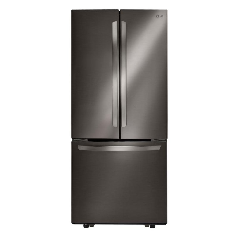 Lg French Door Refrigerator 30 Inch Black Stainless