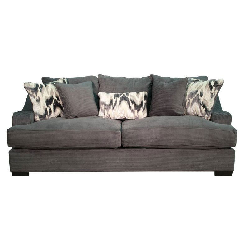 Casual Modern Charcoal Gray Sofa Bed - Spartan | RC Willey ...