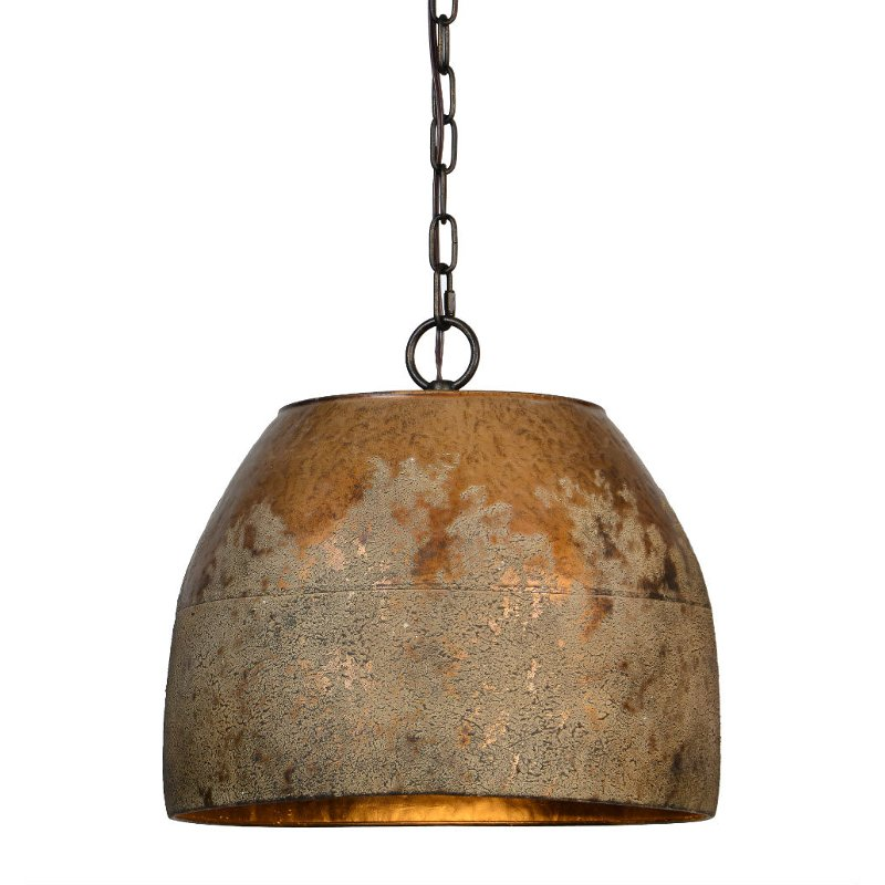Gray Gold 1 Light Pendant Light Fixture Heritage Rc Willey Furniture Store