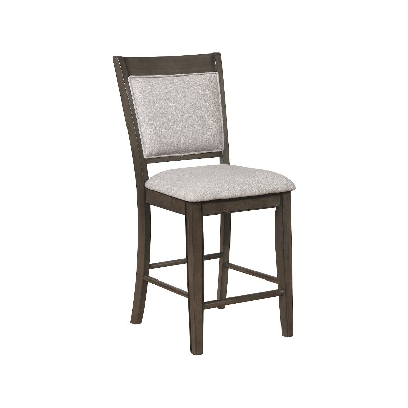 Great Ash Brown And Gray Counter Height Stool   Fulton