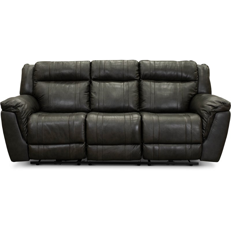 Super Charcoal Gray Leather Match Power Reclining Sofa Trent Squirreltailoven Fun Painted Chair Ideas Images Squirreltailovenorg