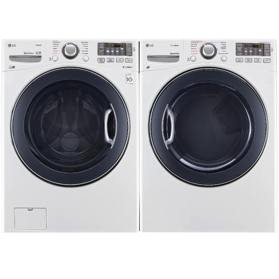 Rc Willey Dryer: LG Front Load Washer And Dryer Set - White Gas