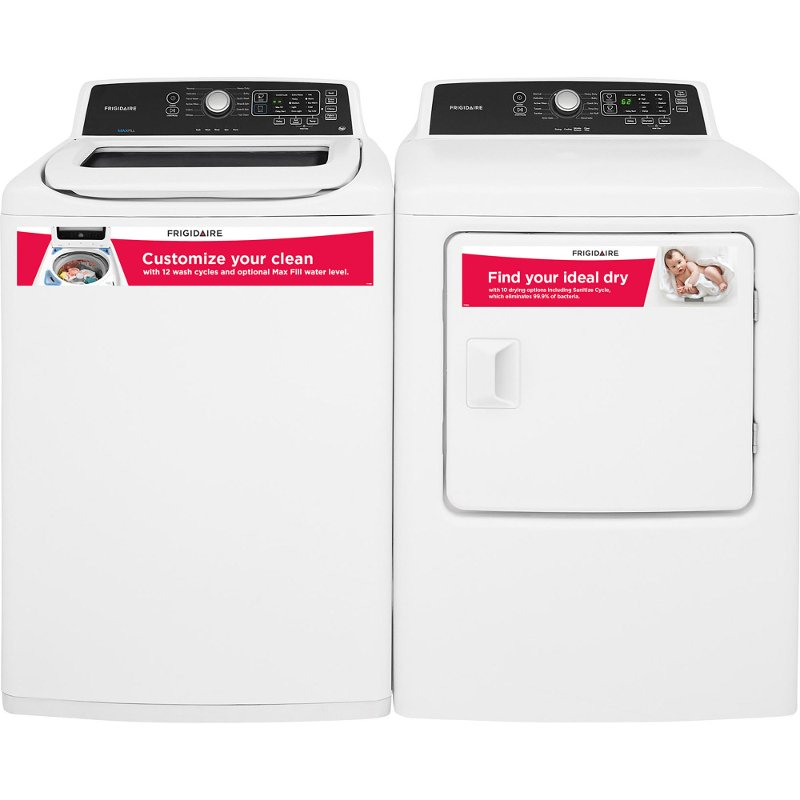 Rc Willey Dryer: Frigidaire Top Load Washer And Dryer Set