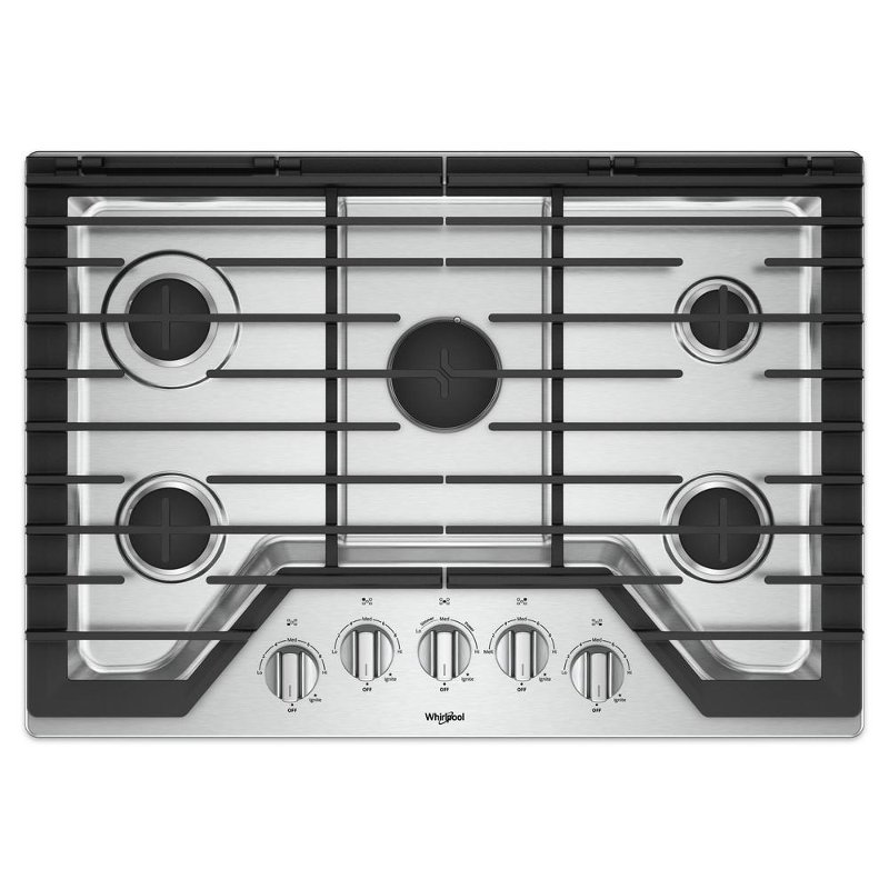 Luxury Whirlpool Gas Stove top