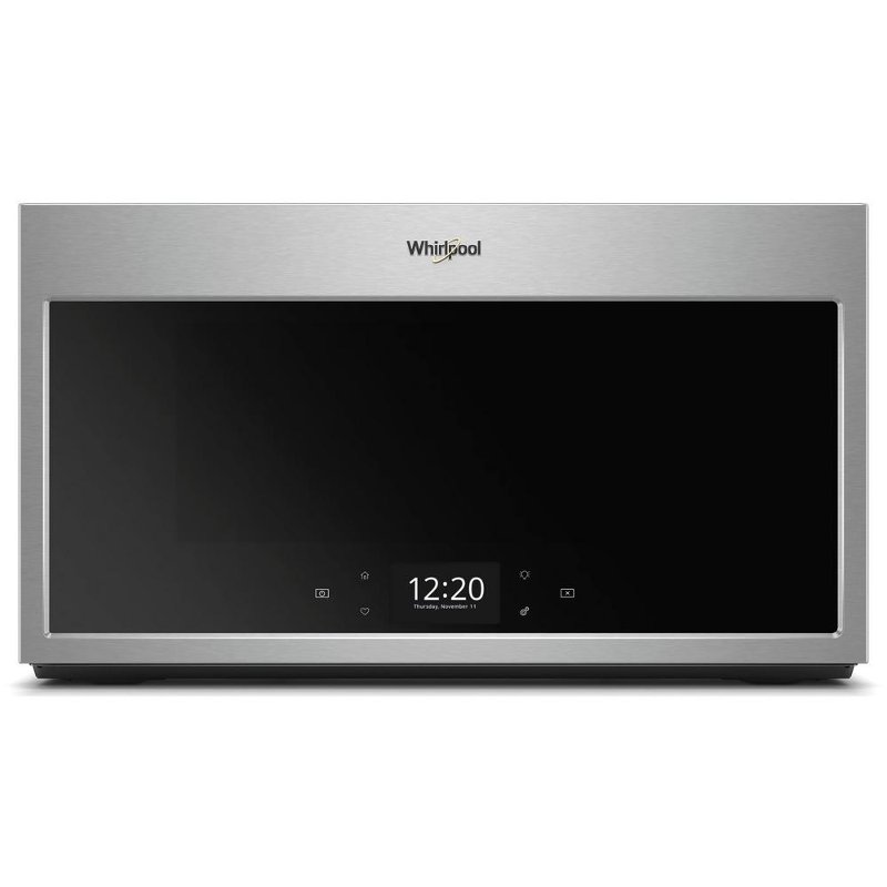 Whirlpool Over The Range Microwave 1 9 Cu Ft Fingerprint Resistant Stainless Steel Rc Willey Furniture