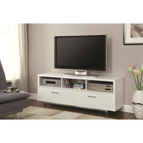 Clean White Transitional 60 Inch Tv Stand Rc Willey Furniture Store