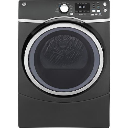 Ge Gas Dryer With Steam 7 5 Cu Ft Diamond Gray Rc Willey Furniture Store