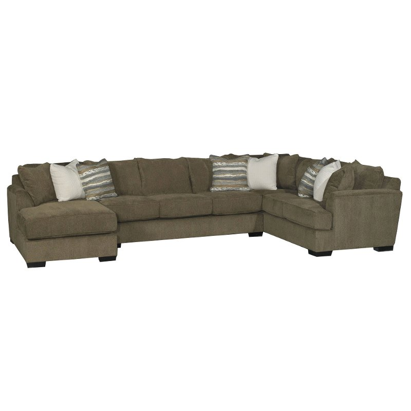 Terrific Brown 3 Piece Sofa Bed Sectional With Laf Chaise Tranquility Download Free Architecture Designs Scobabritishbridgeorg