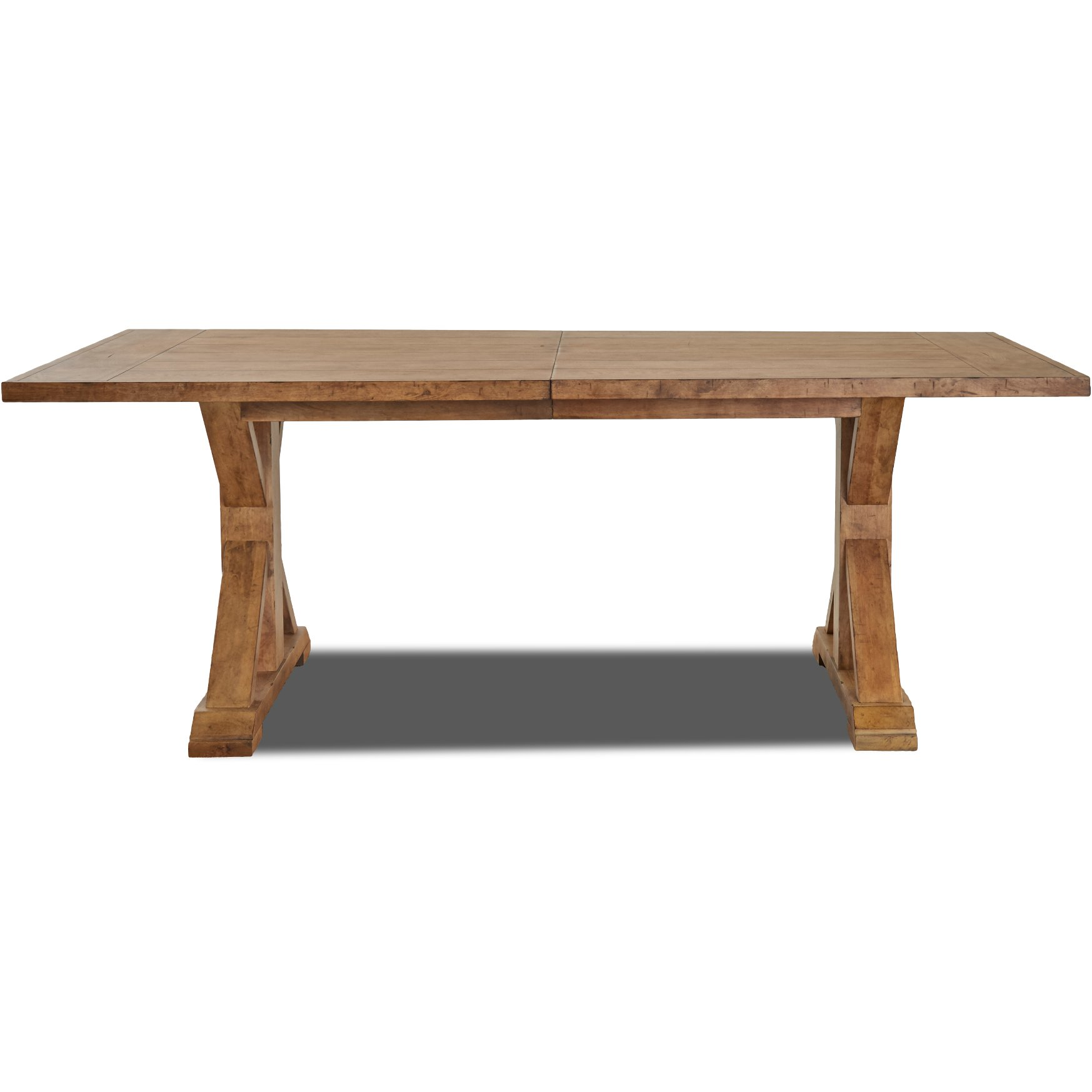 Wheat Brown Farmhouse Dining Table Coming Home RC Willey - Farmhouse conference table