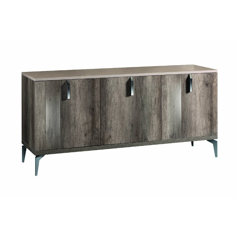KJMM611 BUFFET Contemporary Rustic Gray Dining Room Buffet