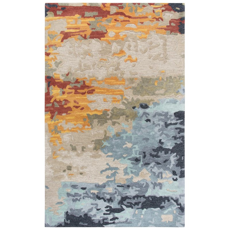 8 X 10 Large Modern Multi Colored Area Rug Mod Rc Willey Furniture Store