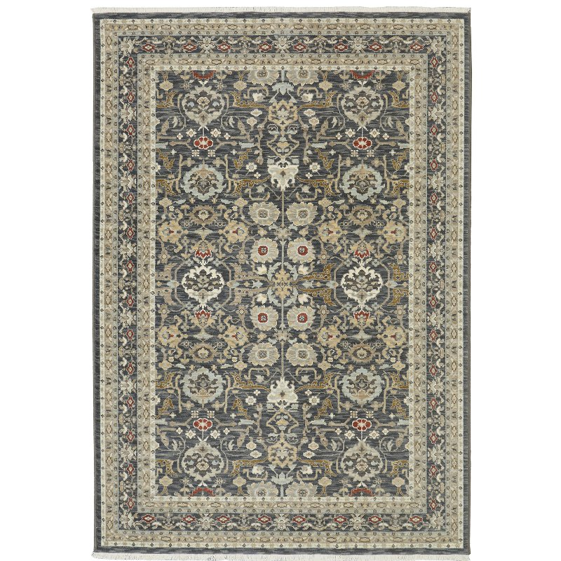 8 X 11 Large Charcoal Gray Area Rug