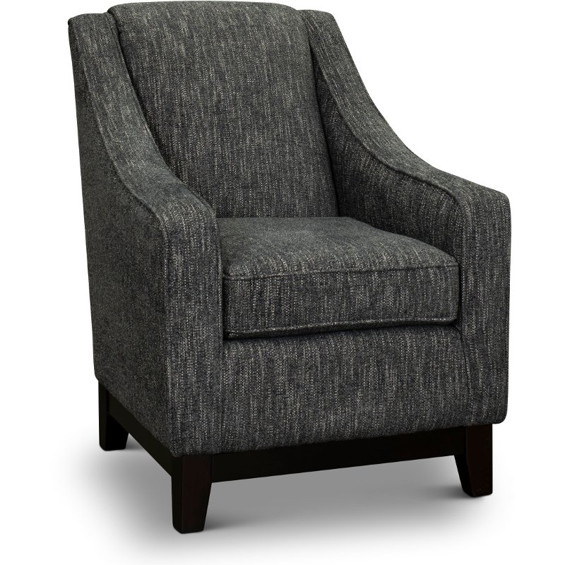 Ordinaire Transitional Smoke Gray Accent Chair   Mariko | RC Willey Furniture Store