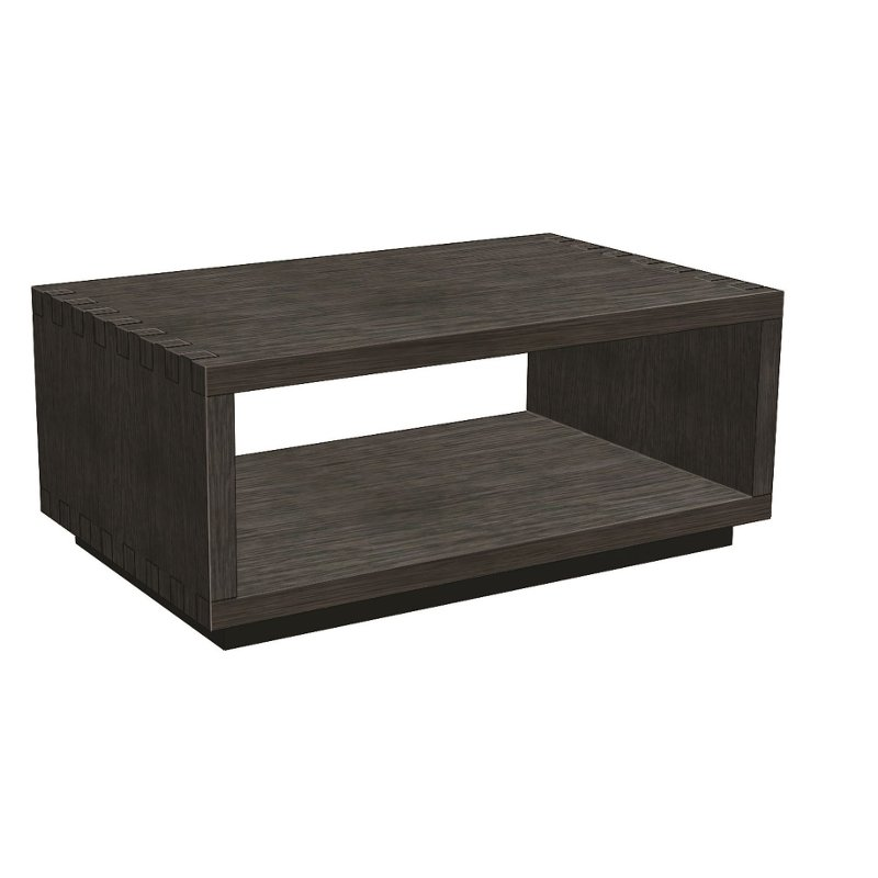 Modern Wood Coffee Table With Wheels Wright