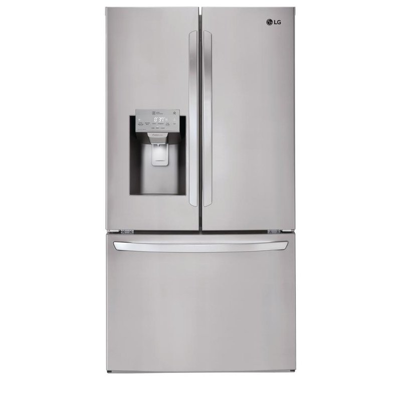 High Quality LG French Door Refrigerator   36 Inch Stainless Steel | RC Willey Furniture  Store