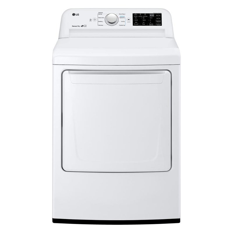 Rc Willey Dryer: LG Electric Dryer With Dial-a-Cycle - White