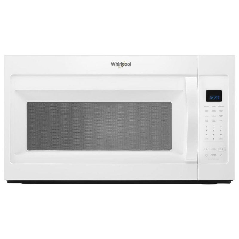 Whirlpool Over The Range Microwave 1 9 Cu Ft White Rc Willey Furniture