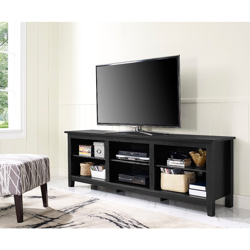 Rc Willey Tv Deals: Modern 70 Inch Black TV Stand