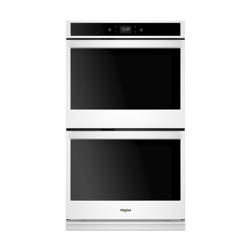 Whirlpool 27 Inch Smart Double Wall Oven With Touchscreen 8 6 Cu