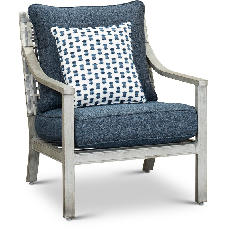 Astonishing Driftwood Gray Patio Lounge Chair Rockport Pabps2019 Chair Design Images Pabps2019Com