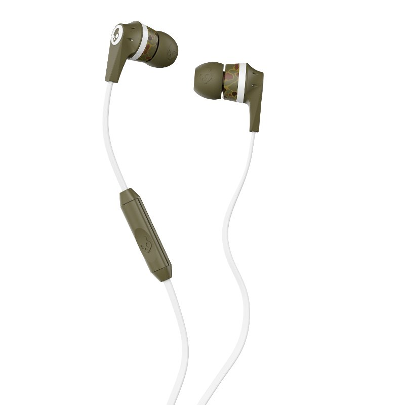 Rc Willey Boise Idaho: Ink'd Skullcandy Earbuds - Camo