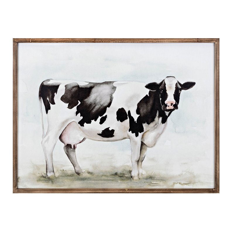 Superieur Mildred Cow Framed Wall Art