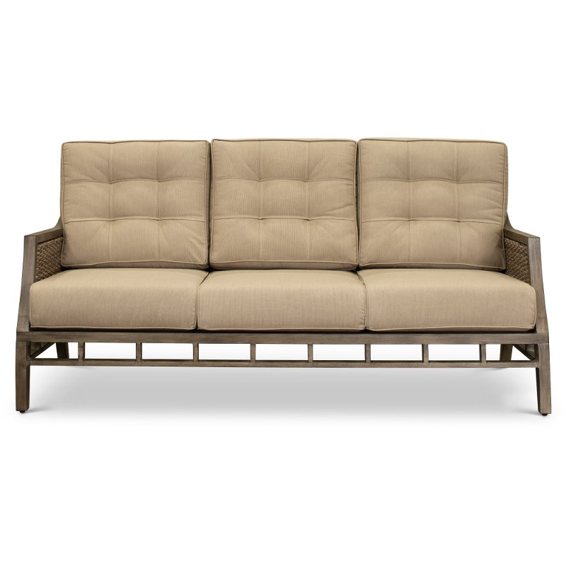 Sunbrella Wicker Patio Sofa Danbury