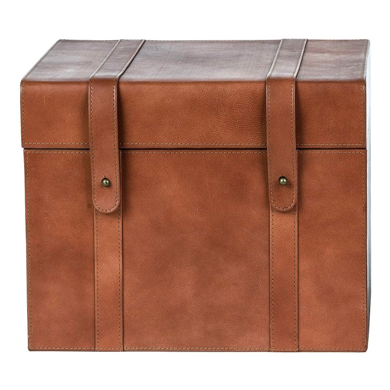 Magnolia Home Furniture 10 Inch Saddle Leather Recipe Box Rc Willey Furniture Store,Shades Of Deep Purple Hush