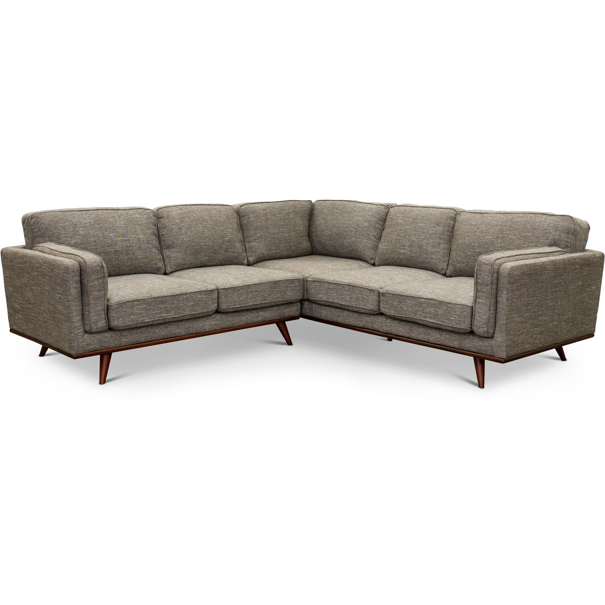 Gray 2 Piece Sectional Sofa with LAF Loveseat - Camden | RC Willey ...
