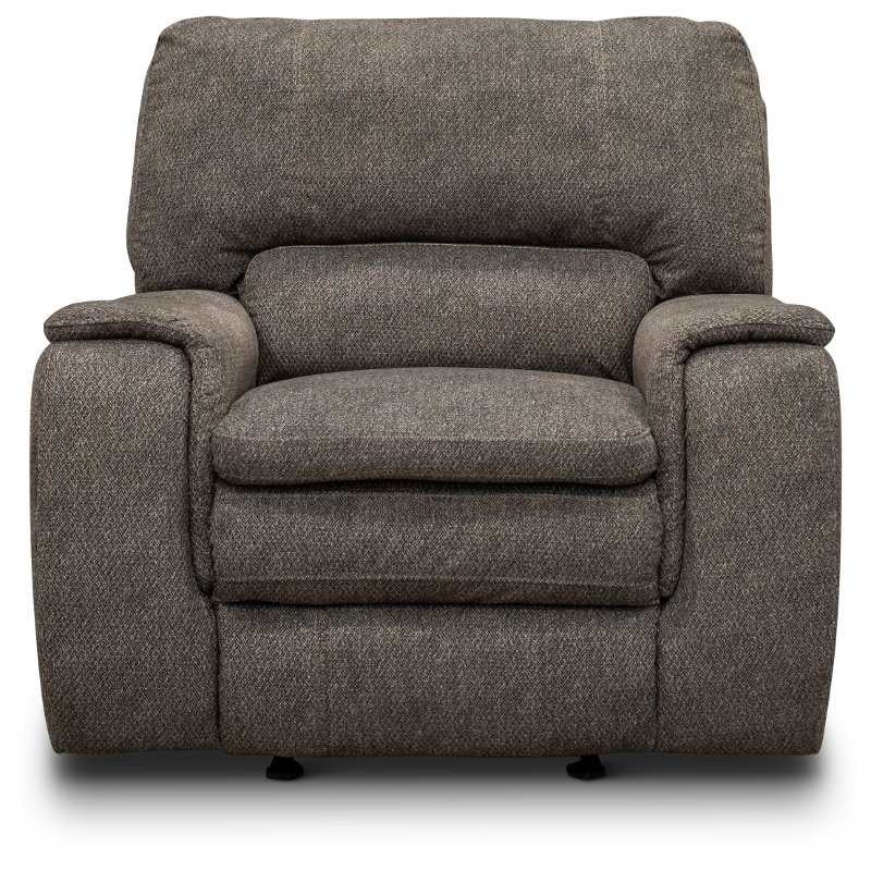 Pleasant Silver Gray Transitional Rocker Recliner Cyprus Pdpeps Interior Chair Design Pdpepsorg