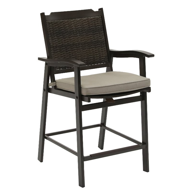 Outstanding Wicker Patio Bar Stool Glenwood Ocoug Best Dining Table And Chair Ideas Images Ocougorg