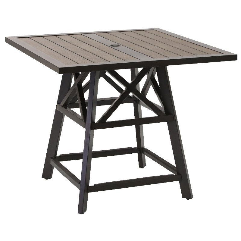 42 Inch Square Pub Height Table Glenwood