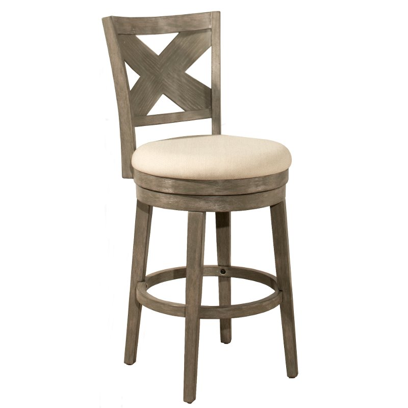 Prime Weathered Gray 26 Inch Upholstered Counter Height Stool Sunhill Caraccident5 Cool Chair Designs And Ideas Caraccident5Info
