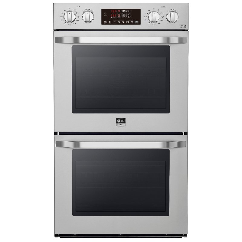 Lg Studio 30 Inch Smart Double Wall Oven With Convection 9 4 Cu