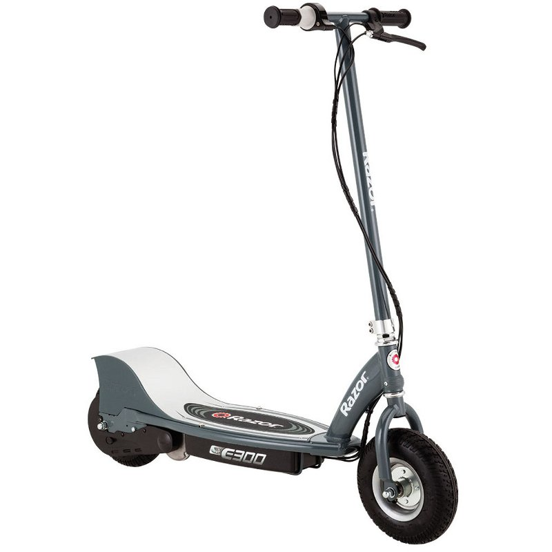 Razor Electric Scooter With Seat >> E300 Razor Electric Scooter Gray