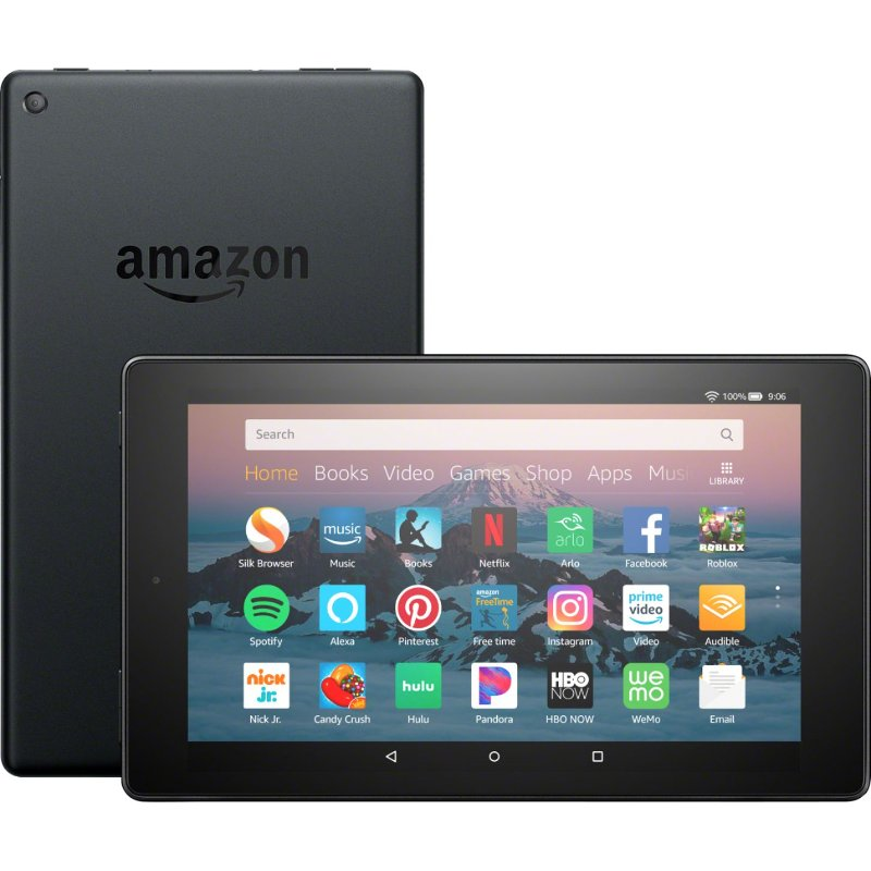 Amazon Kindle Fire HD 8 16GB Tablet - Black