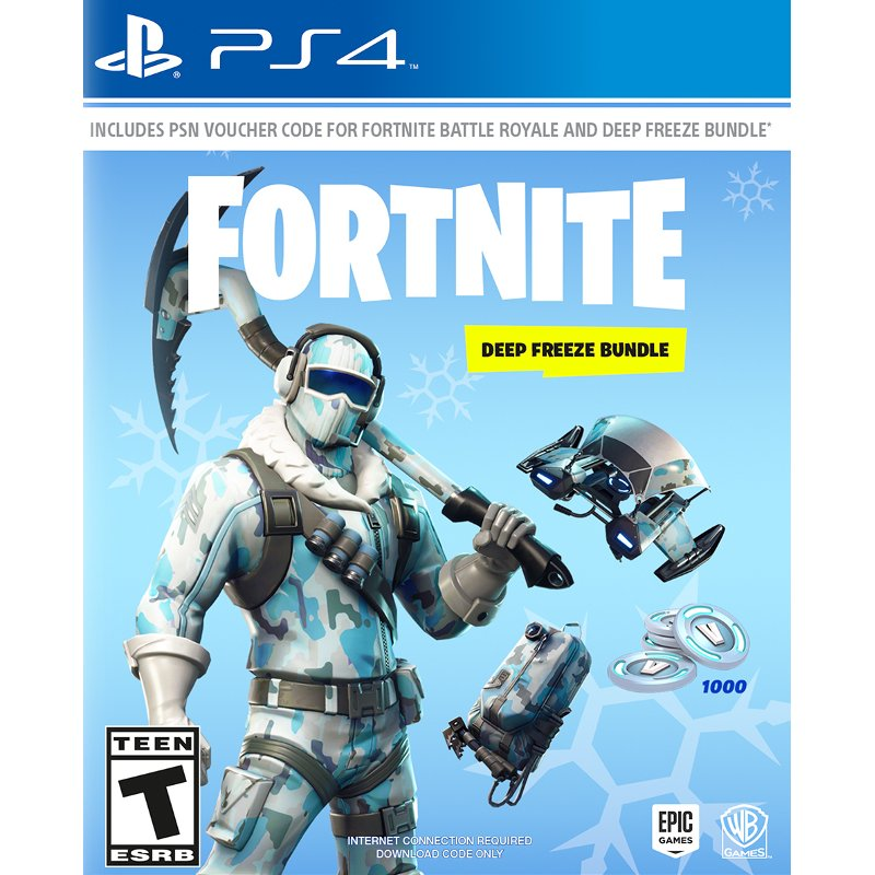 Fortnite Deep Freeze Bundle Ps4 Rc Willey Furniture Store