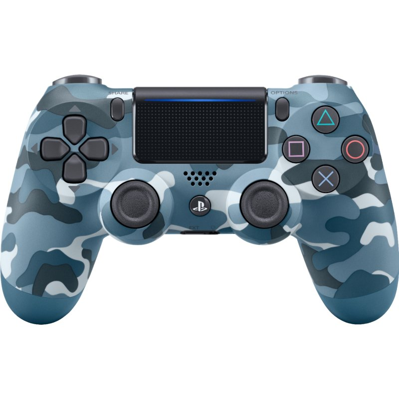 PS4 Controller Wireless DualShock 4 - Blue Camo | RC ...